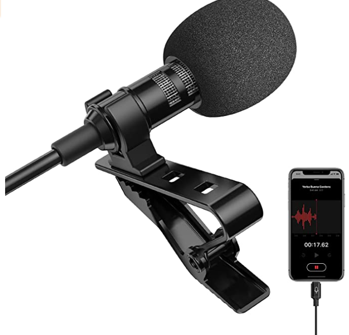 Microphone Lavalier – iPhone